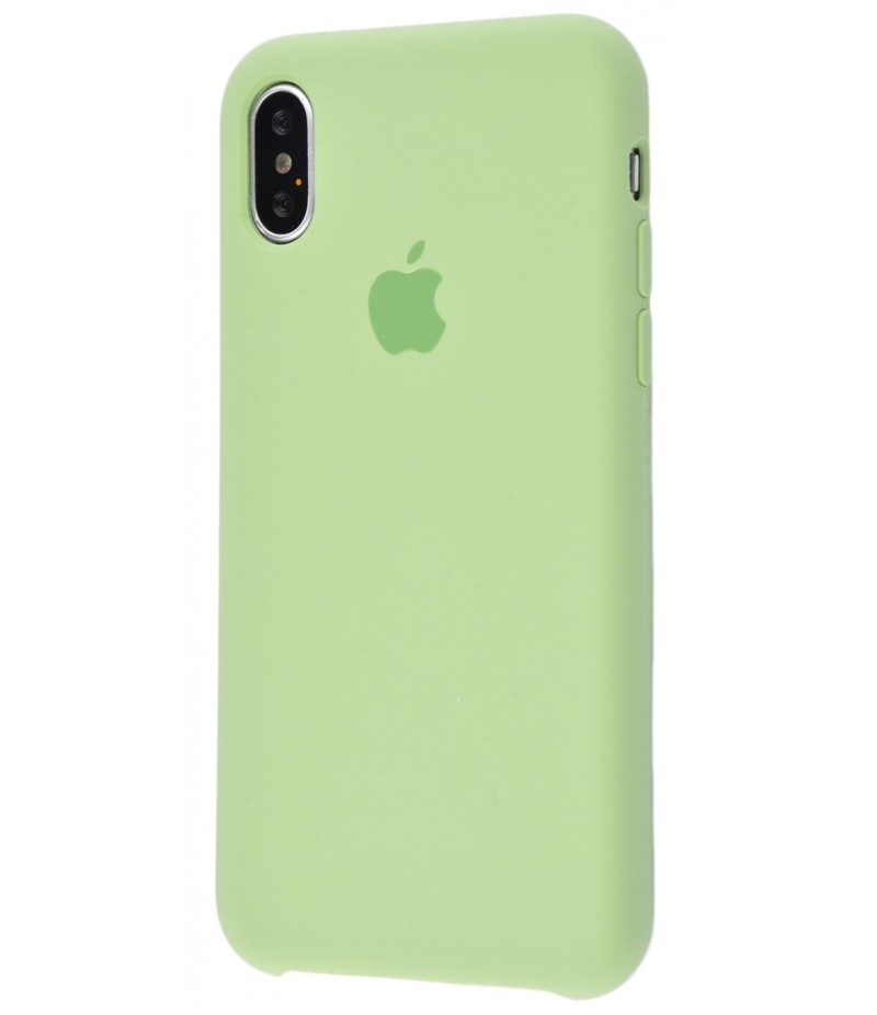 Original Silicon Case(copy) iphone X mint gum