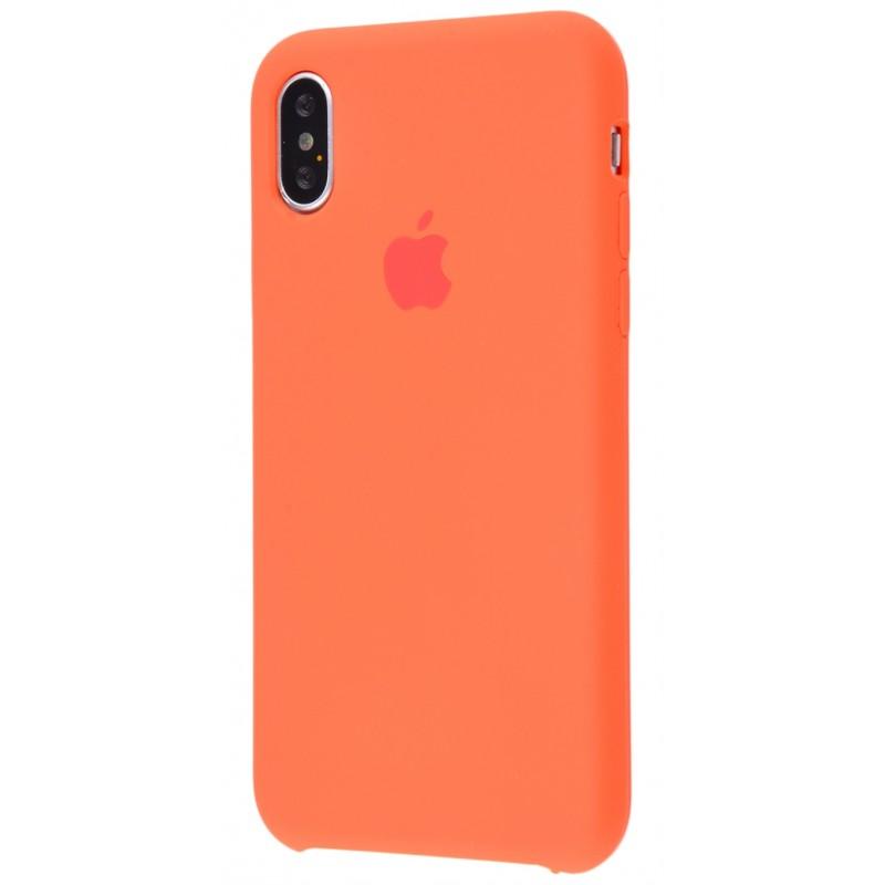 Original Silicone Case (Copy) for iPhone X Orange