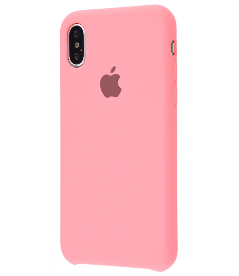 Original Silicone Case (Copy) for iPhone X Pink