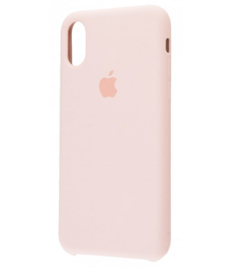 Original Silicone Case (Copy) for iPhone X Pink Sand