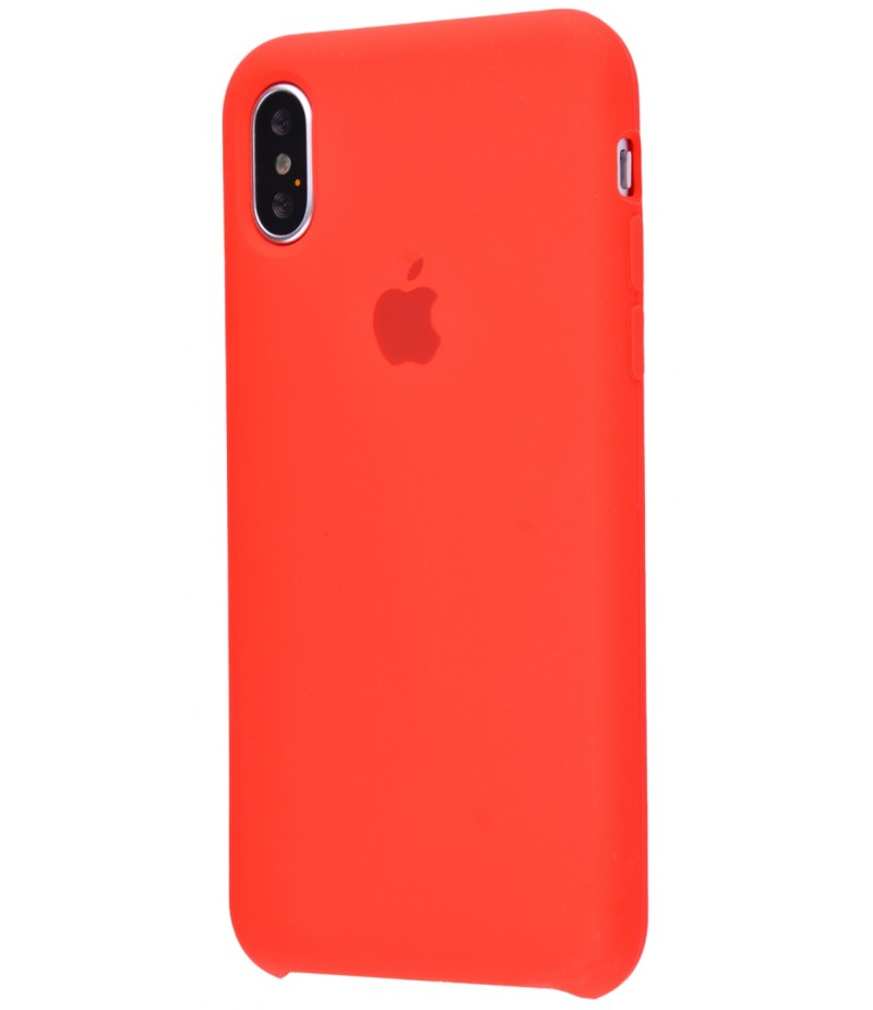 Original Silicone Case (Copy) for iPhone X Red