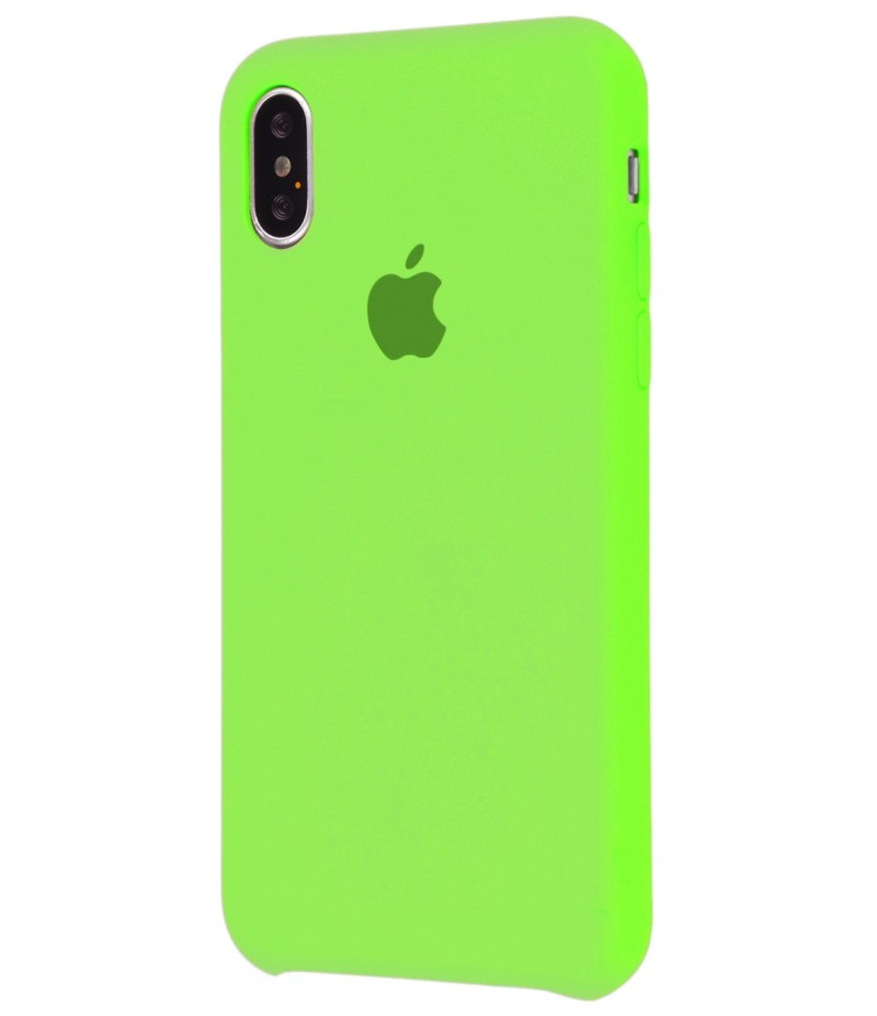 Original Silicone Case (Copy) for iPhone X Salate