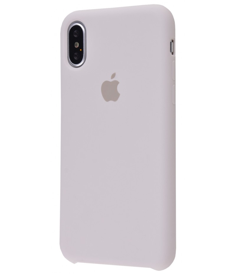 Original Silicone Case (Copy) for iPhone X Stone