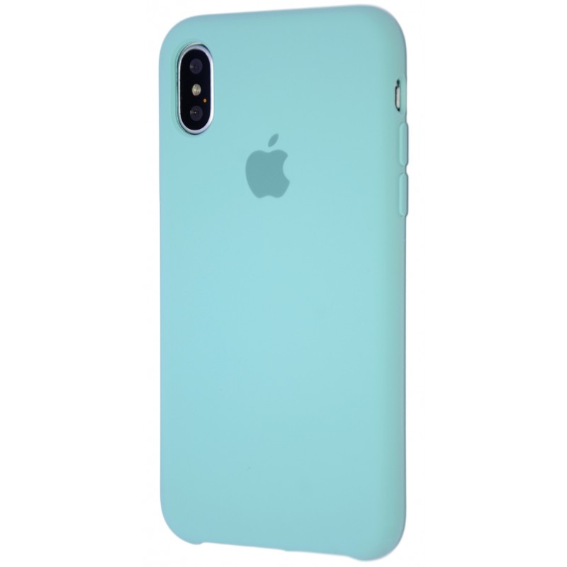 Original Silicone Case (Copy) for iPhone X Turquoise