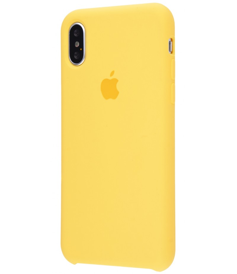 Original Silicone Case (Copy) for iPhone X Yellow