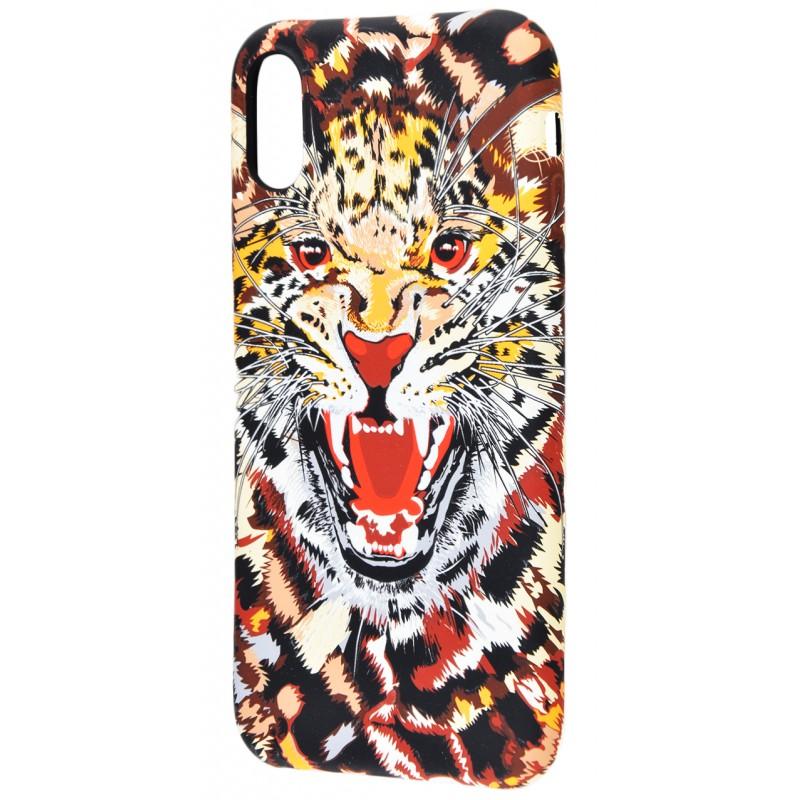 Накладка Luxo TPU Леопард iPhone X