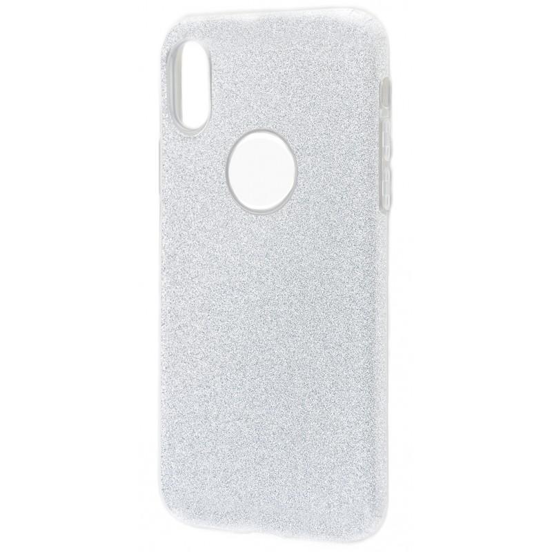 Удароміцний чохол Shining Glitter iPhone X silver