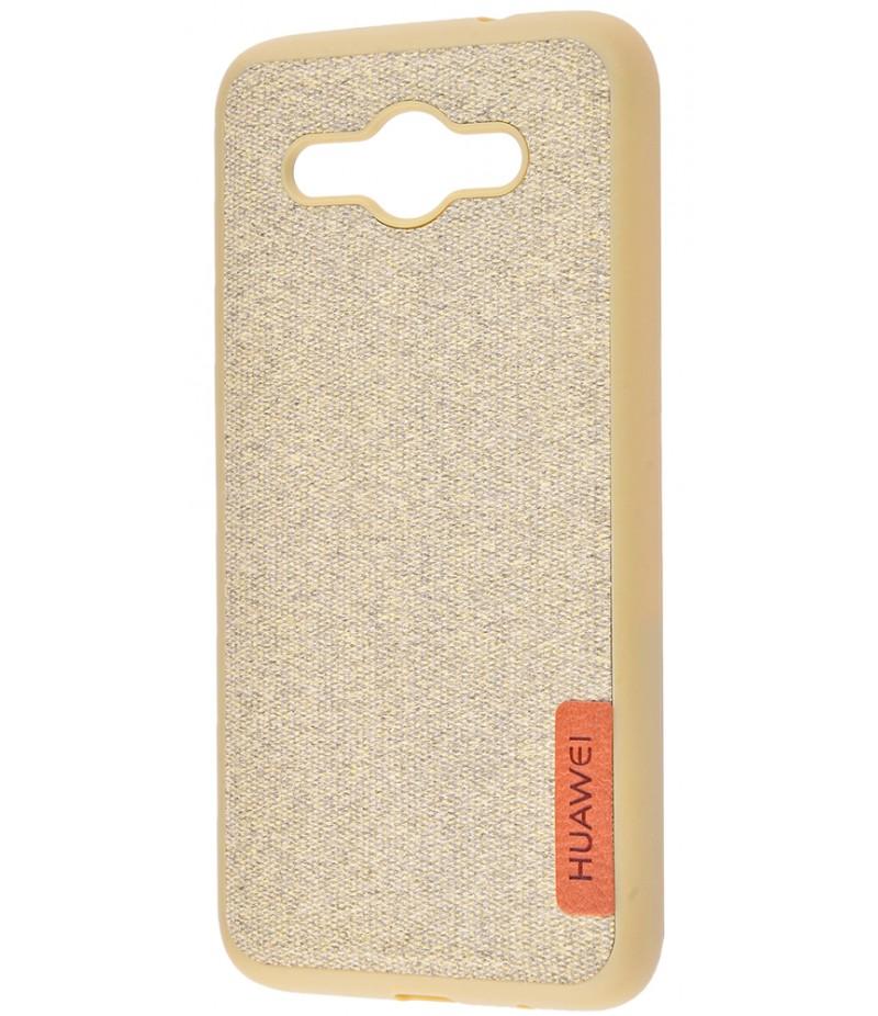 Label Case Textile Huawei Y3 2017 Olive