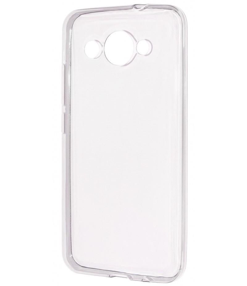 Силикон 0.3 mm Huawei Y3 2017 White
