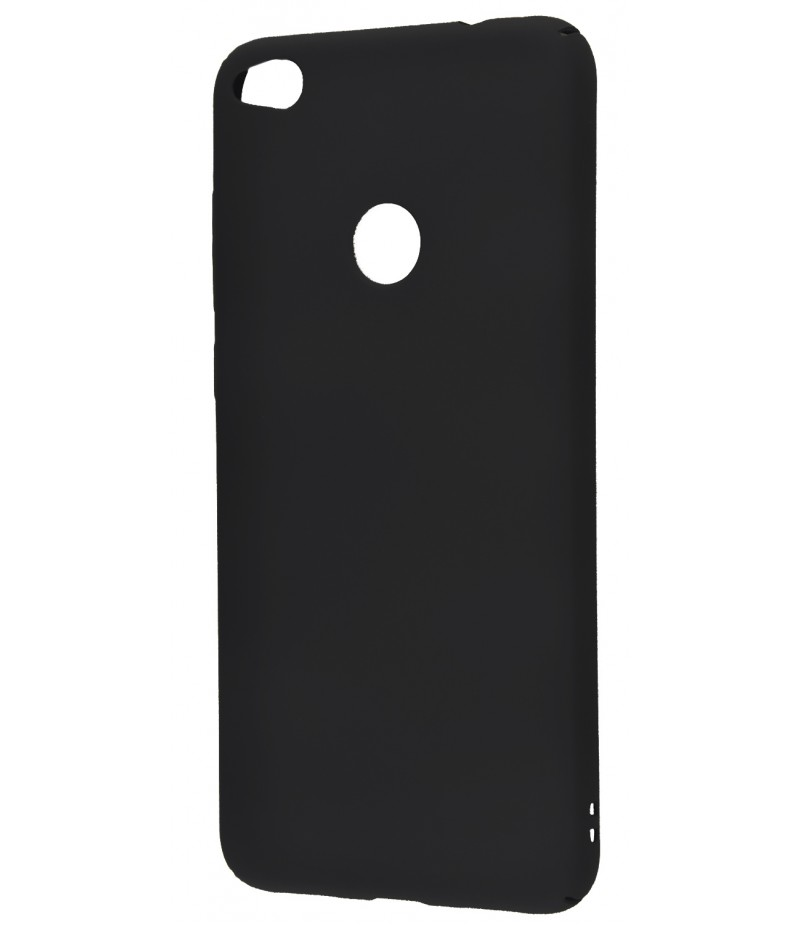PC Soft Touch Case Huawei P8 Lite 2017 Black