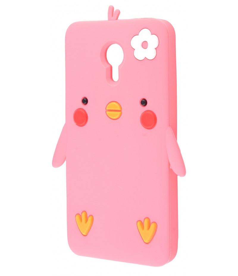3D чехол Chicken Meizu M3 Note Pink