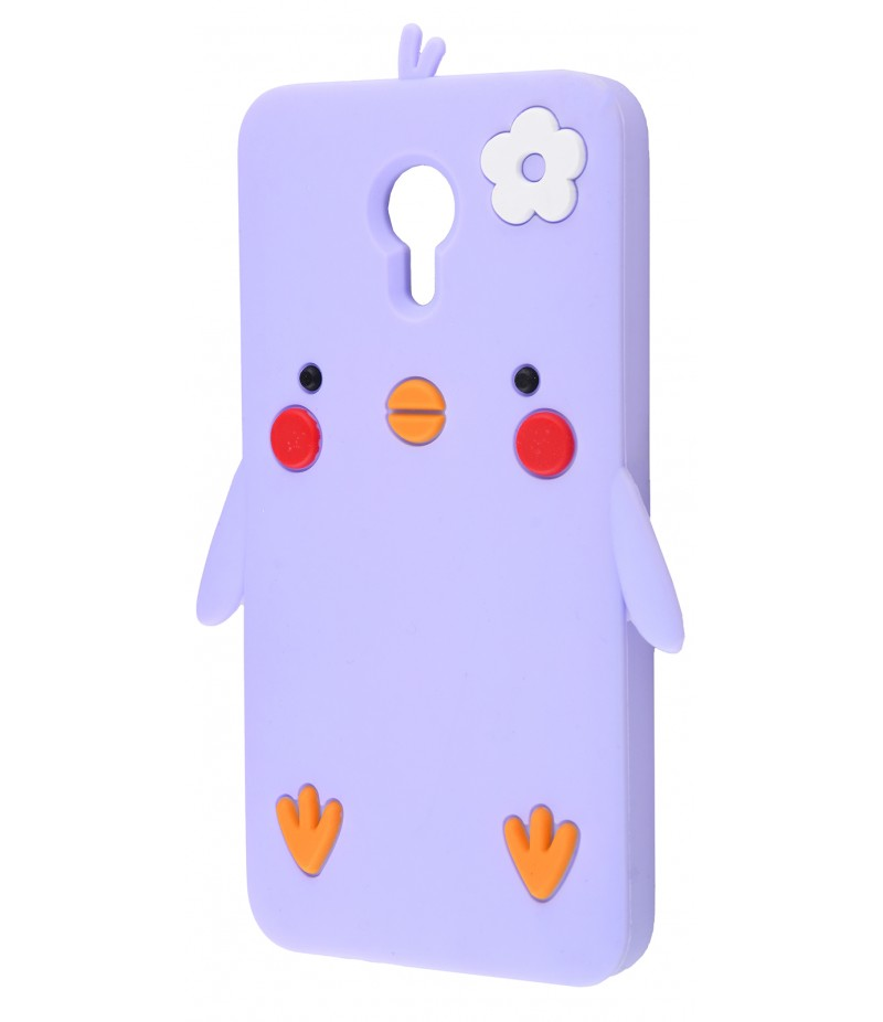 3D чехол Chicken Meizu M3 Note Purple