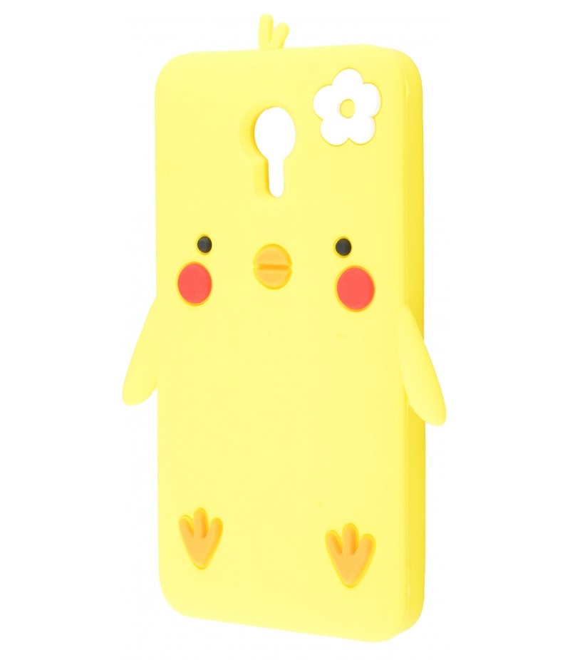 3D чехол Chicken Meizu M3 Note Yellow