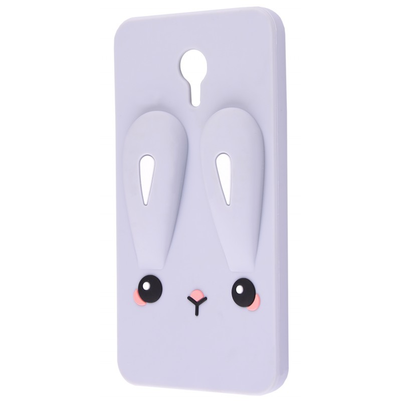 3D чохол Rabbit Meizu M3 Note Grey