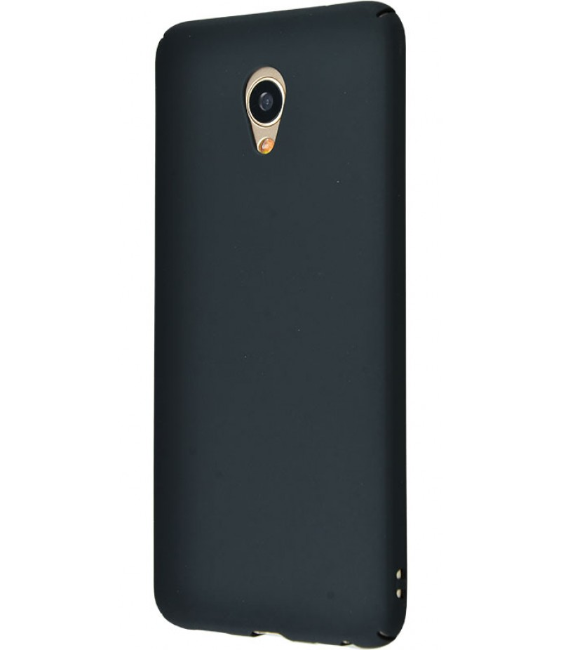 PC Soft Touch Case Meizu M3 Note Black
