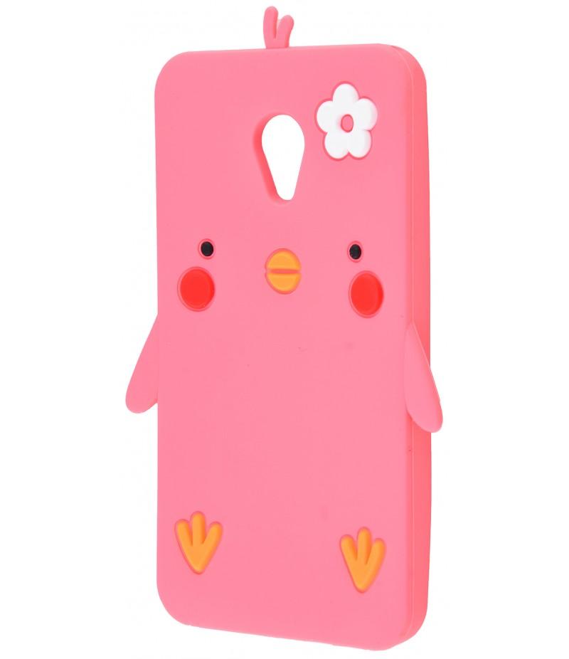 3D чехол Chicken Meizu M5C Pink