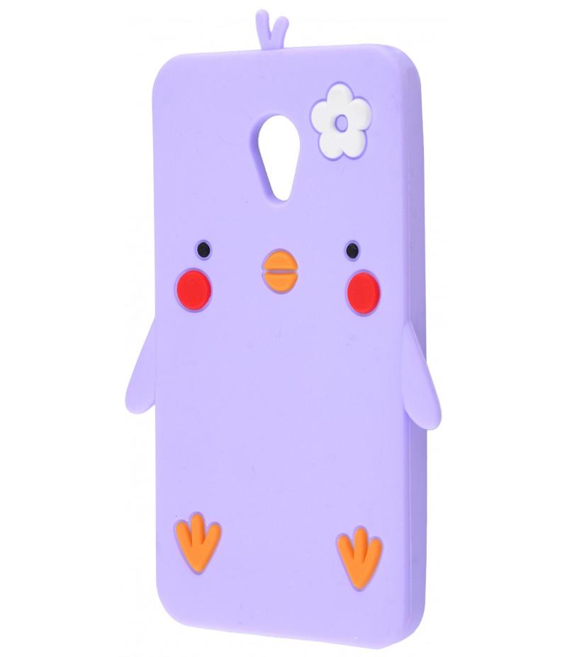 3D чехол Chicken Meizu M5C Purple