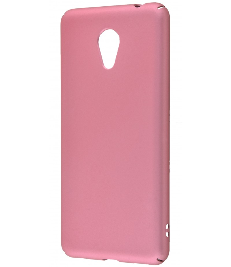 Soft Touch plastic Meizu M5C rose