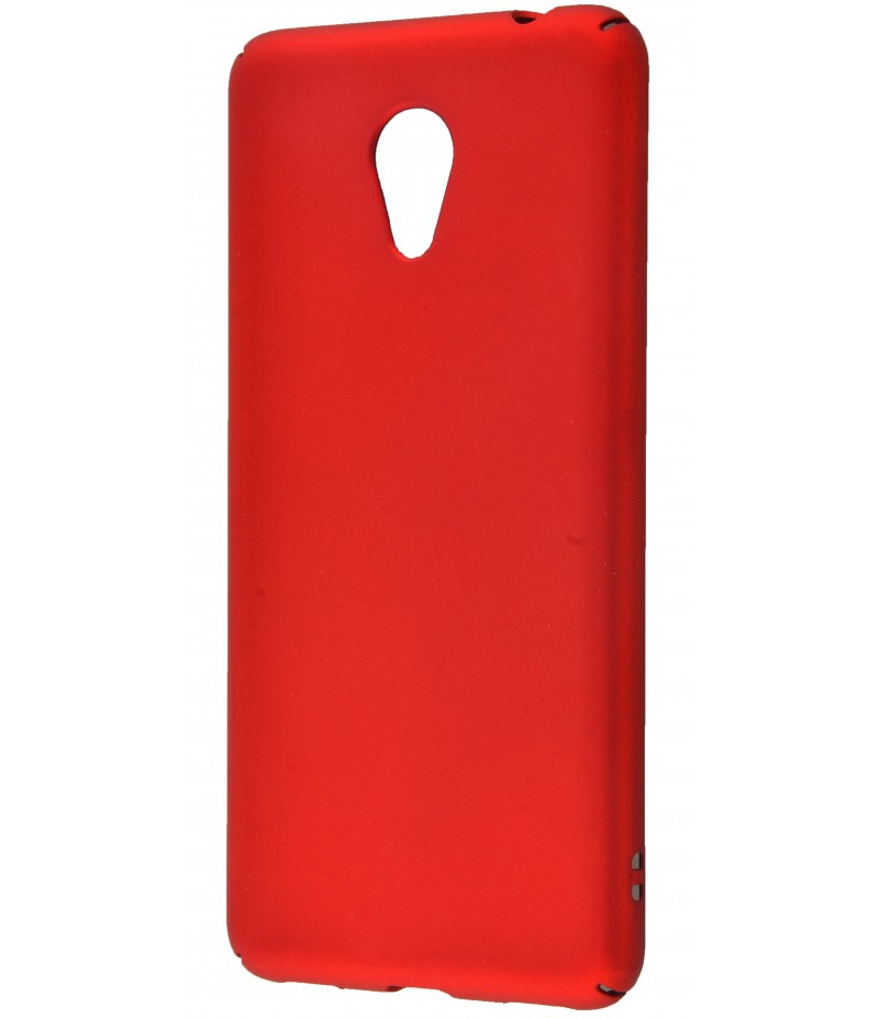 Soft Touch plastic Meizu M5C red