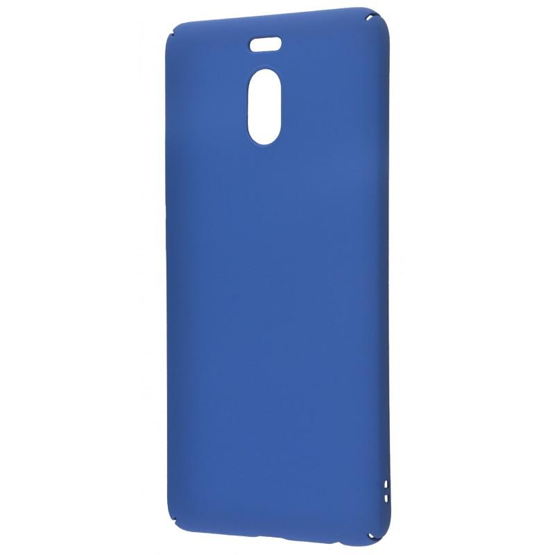 PC Soft Touch Case Meizu M6 Note Blue
