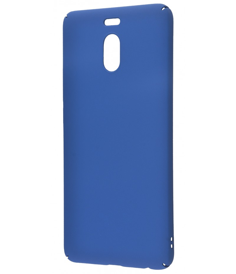 Soft Touch plastic Meizu M6 Note blue