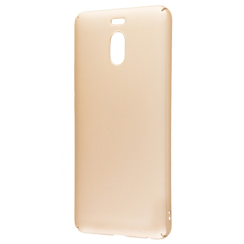 PC Soft Touch Case Meizu M6 Note Gold