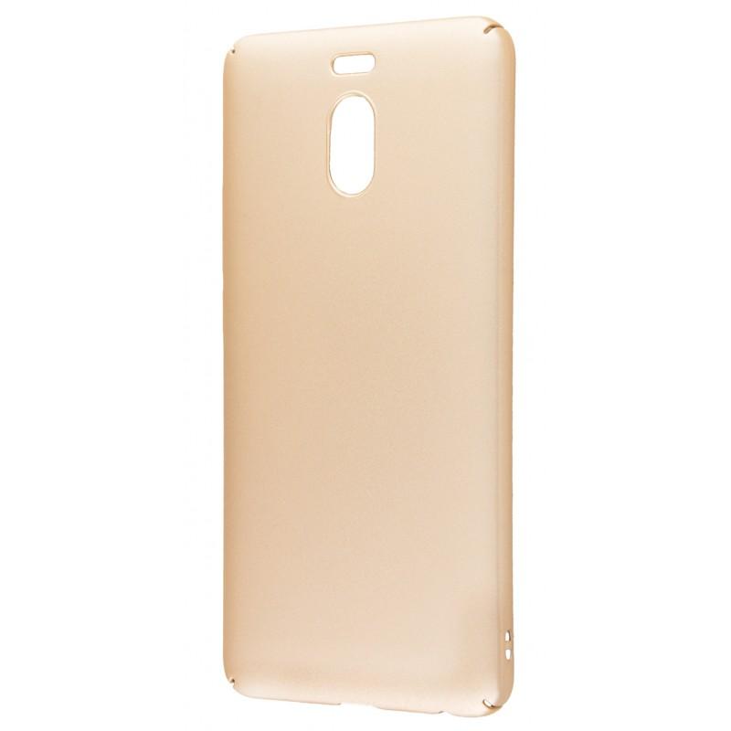 Soft Touch plastic Meizu M6 Note gold