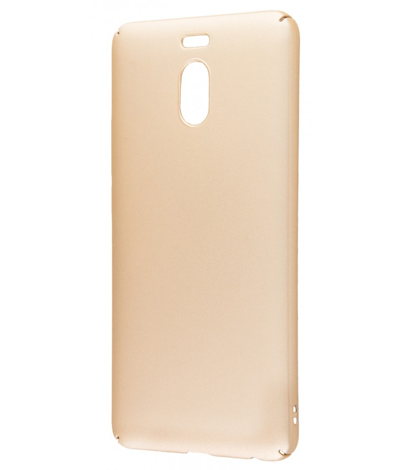 Soft Touch plastic Meizu M6 Note gold
