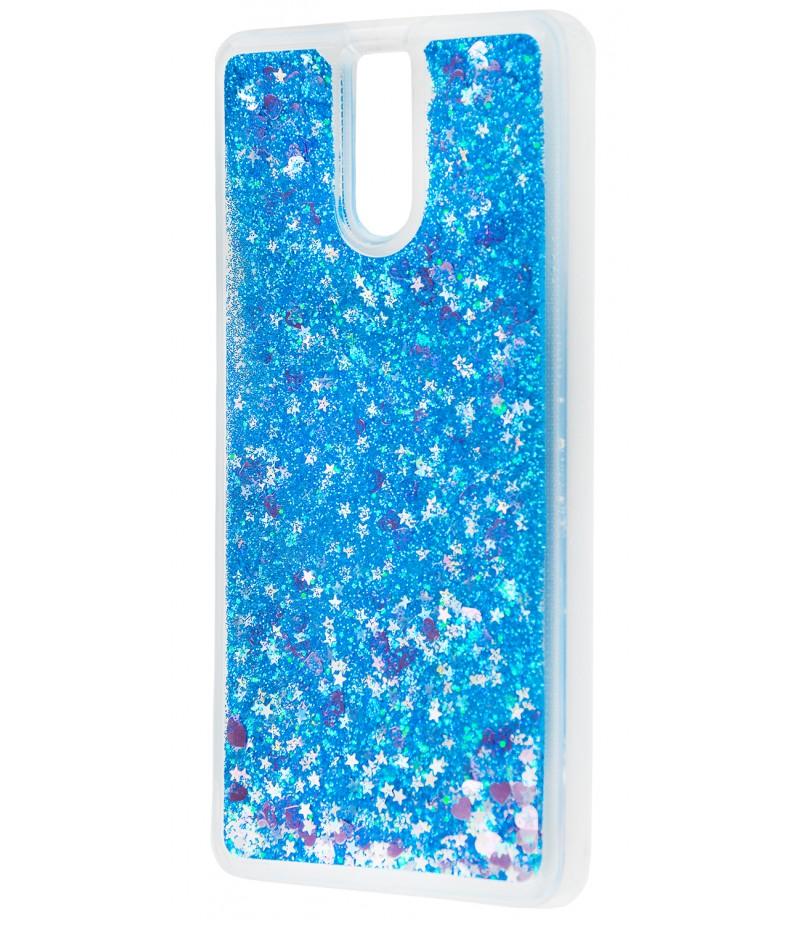 Блестки вода Meizu M6 Note Blue