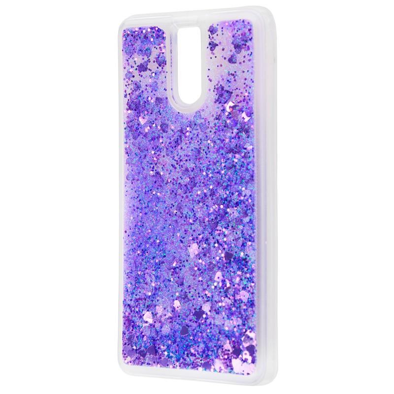 Жидкость внутри блестки Meizu M6 Note fiolet