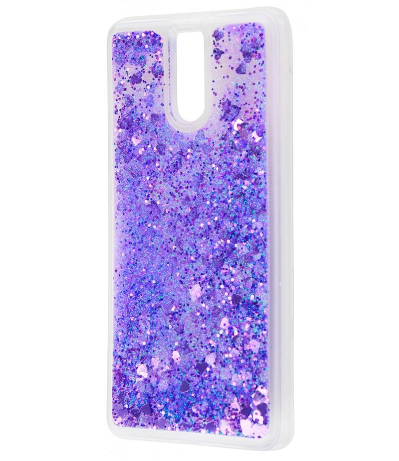Блестки вода Meizu M6 Note Purple