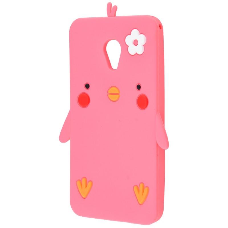 3D чохол Chicken Meizu M5 Pink