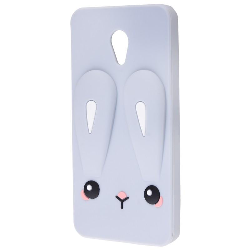 3D чохол Rabbit Meizu M5 Grey