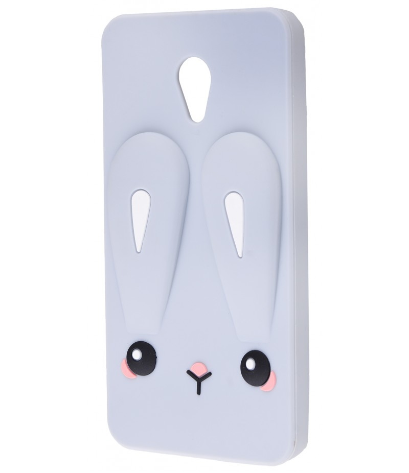 3D чохол Rabbit Meizu M5 Grey