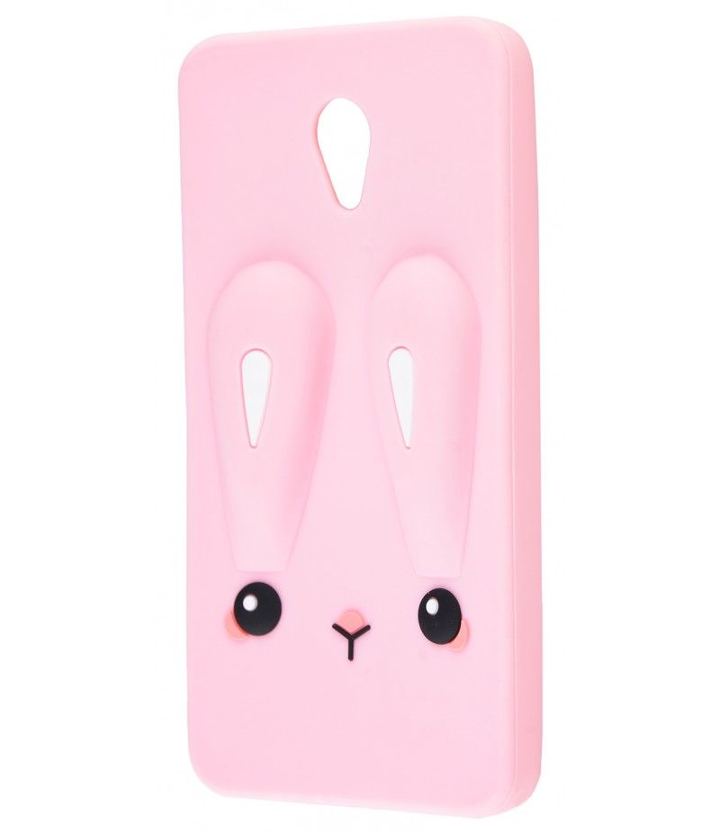 3D чохол Rabbit Meizu M5 Pink
