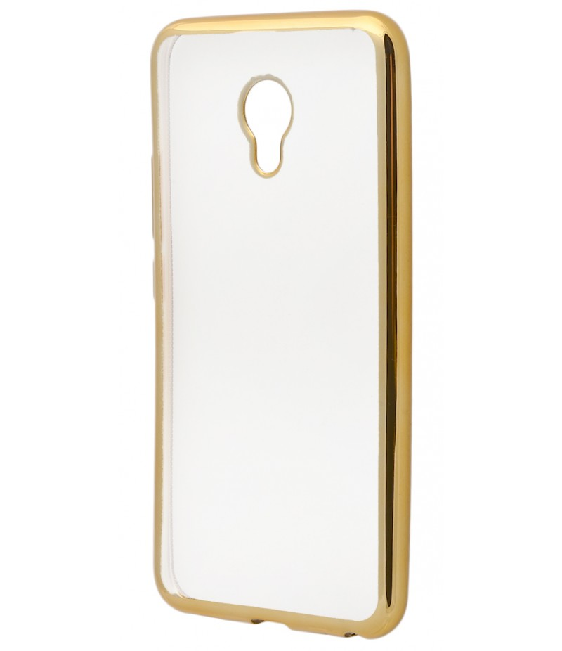 Металізований (TPU) Meizu M5 Gold