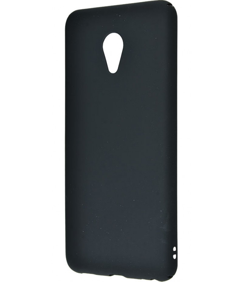 PC Soft Touch Case Meizu M5 Black