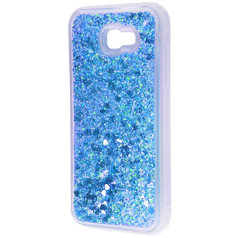 Накладка рідина всередині Samsung A720 (A7 2017) Blue