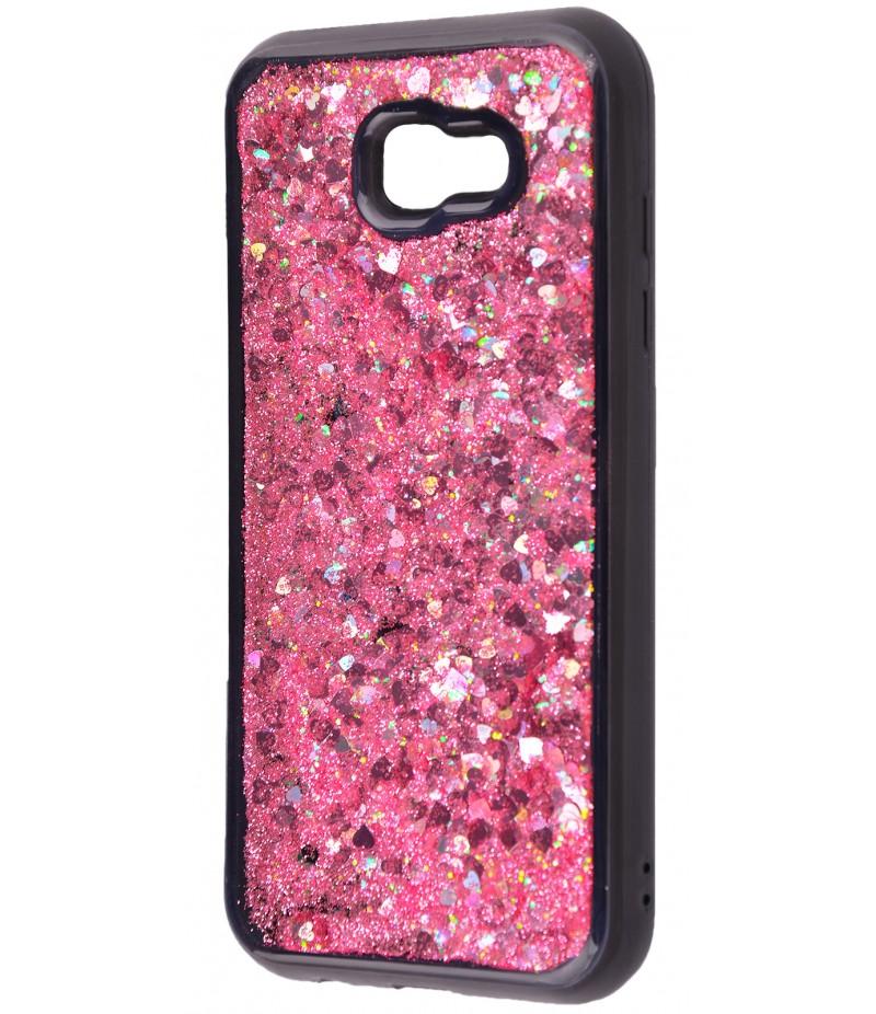 Накладка рідина всередині Samsung A720 (A7 2017) Pink