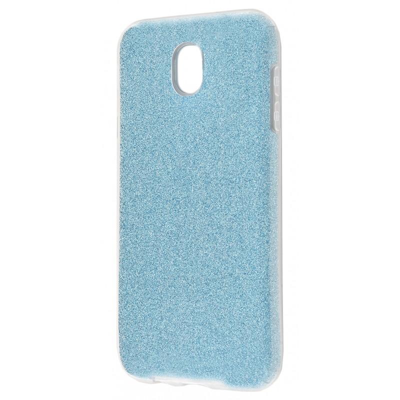 Удароміцний чохол Shining Glitter Samsung J3 2017 (J330) Blue