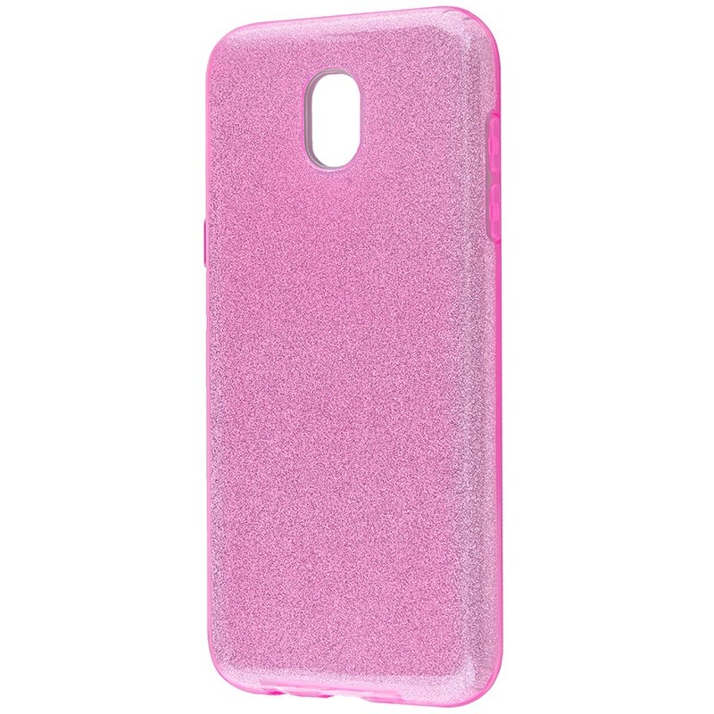 Удароміцний чохол Shining Glitter Samsung J3 2017 (J330) Purple