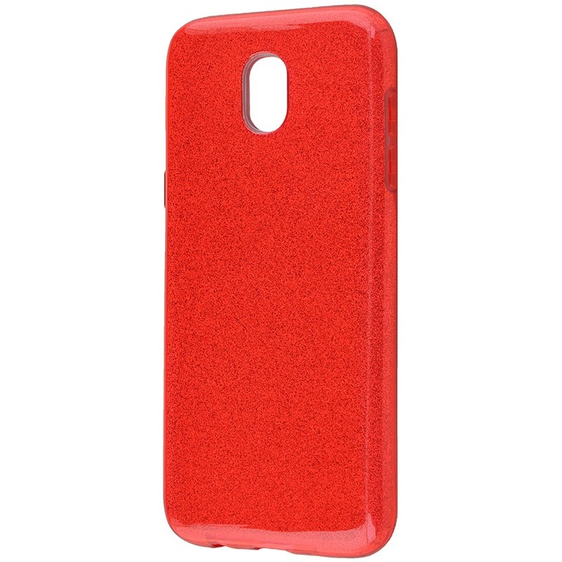 Удароміцний чохол Shining Glitter Samsung J3 2017 (J330) Red