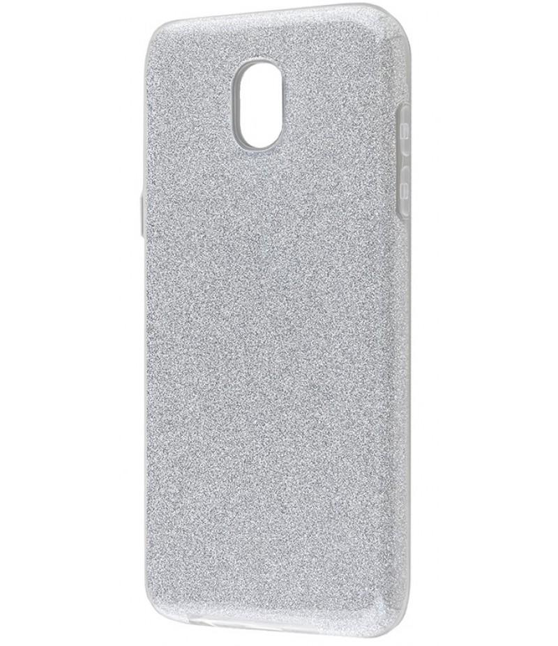 Glitter Samsung J330 silver