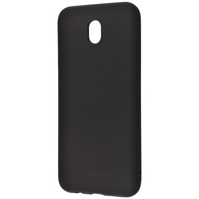 Molan Cano Glossy Jelly Case Samsung Galaxy J3 2017 (J330F) Black