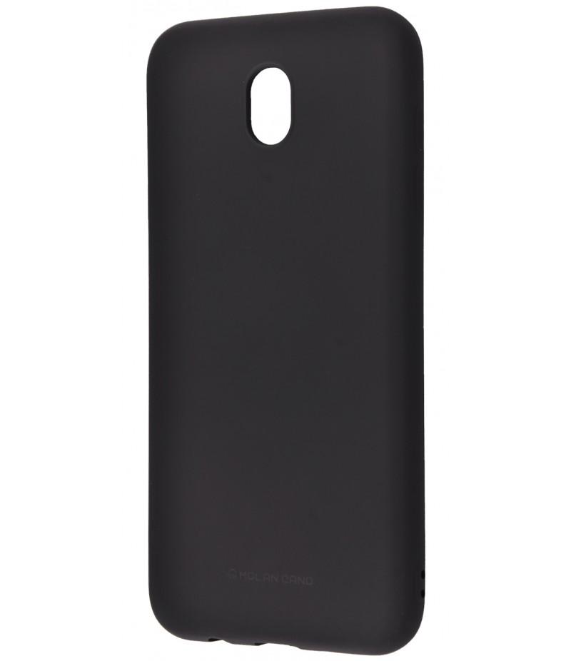 Molan Cano Glossy Jelly Case Samsung Galaxy J3 2017 (J330F) Black