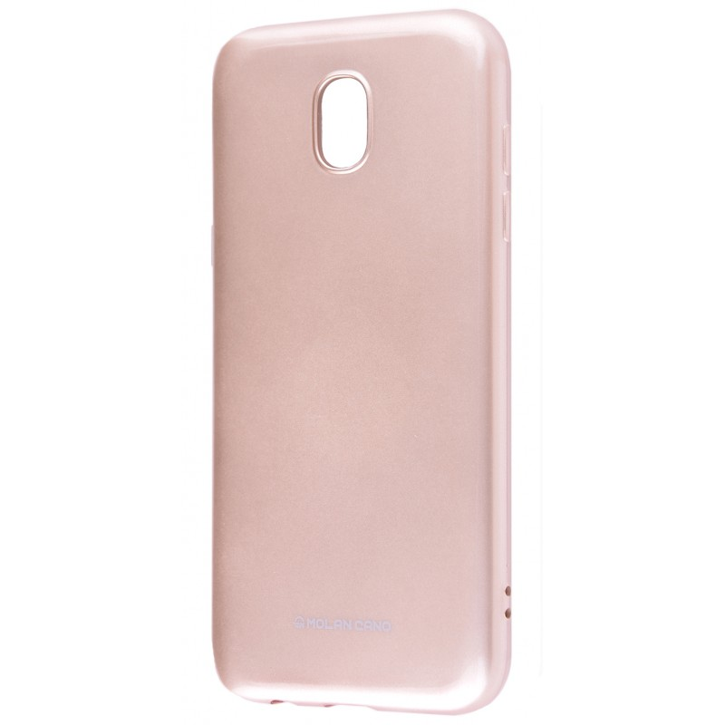 Molan Cano Glossy Jelly Case Samsung Galaxy J3 2017 (J330F) Gold