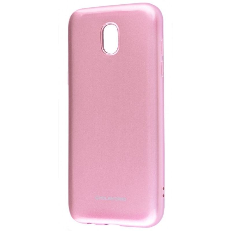 Molan Cano Glossy Jelly Case Samsung Galaxy J3 2017 (J330F) Pink
