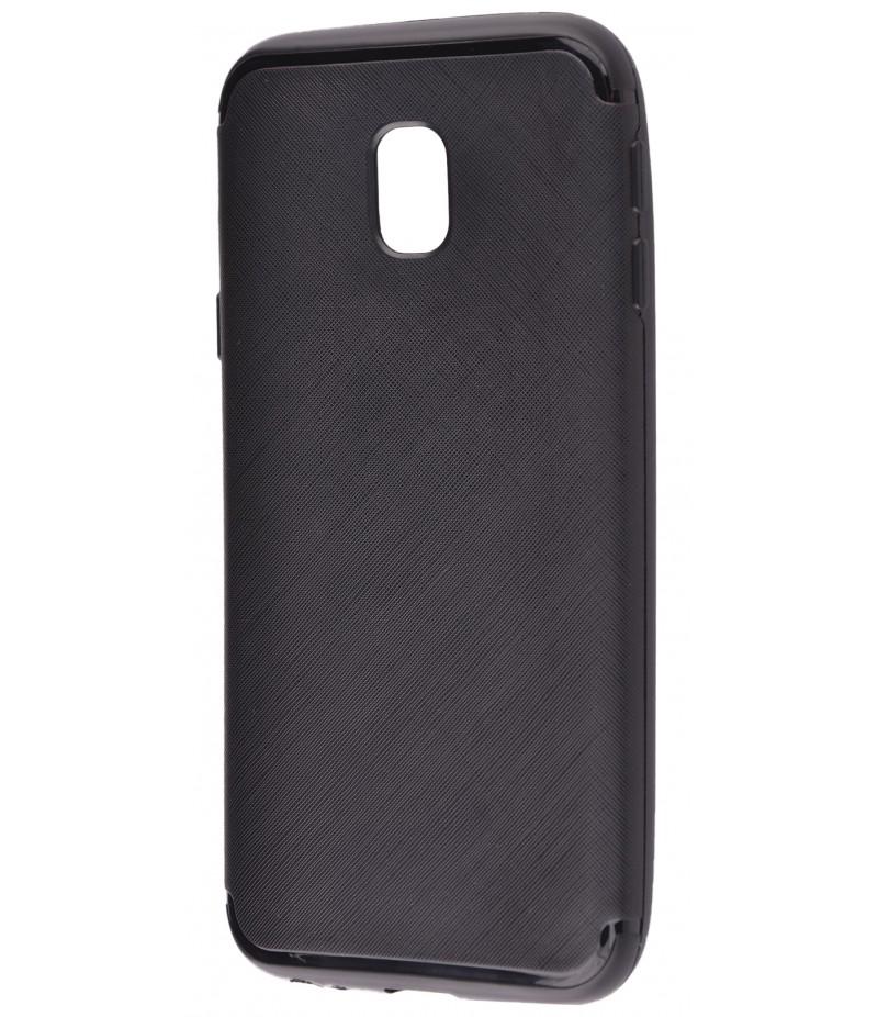 TPU Cross Line Samsung J530 black