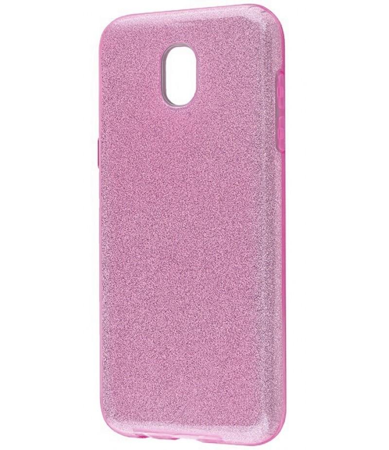 Glitter Samsung J530 fiolet