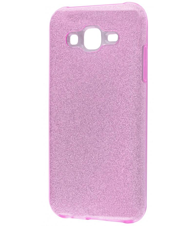 Shining Glitter Case Samsung Galaxy J7 Purple